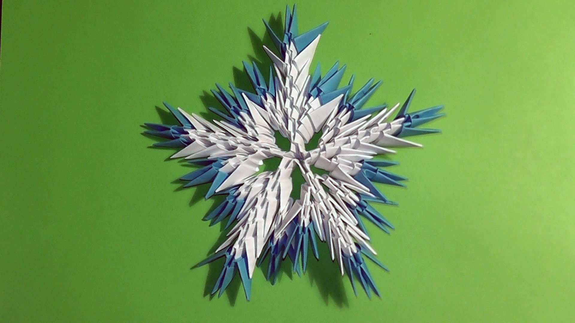 3d paper snowflake You can start by squaring off regular old pieces of 8x10 printer paper if you want  however, the finished snowflake is almost 2 feet across, so feel free to cut your squares a little smaller.