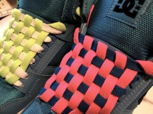 Checkerboard Lacing