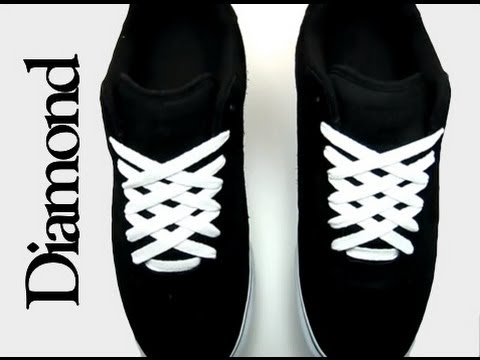 Cool Ways to Lace Shoes with 5 Holes