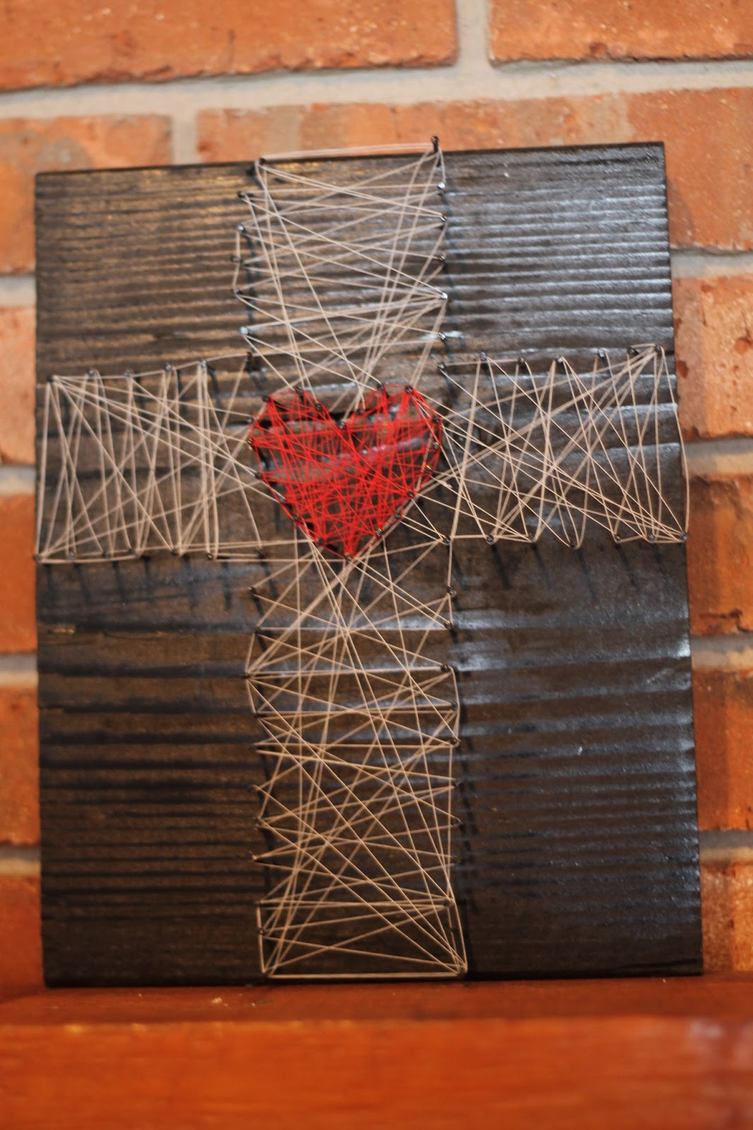 Cross String Art