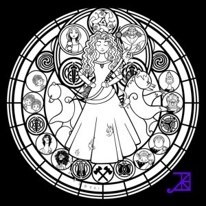 Disney Stained Glass Pattern