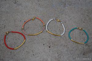 Easy Seed Bead Bracelet Pattern