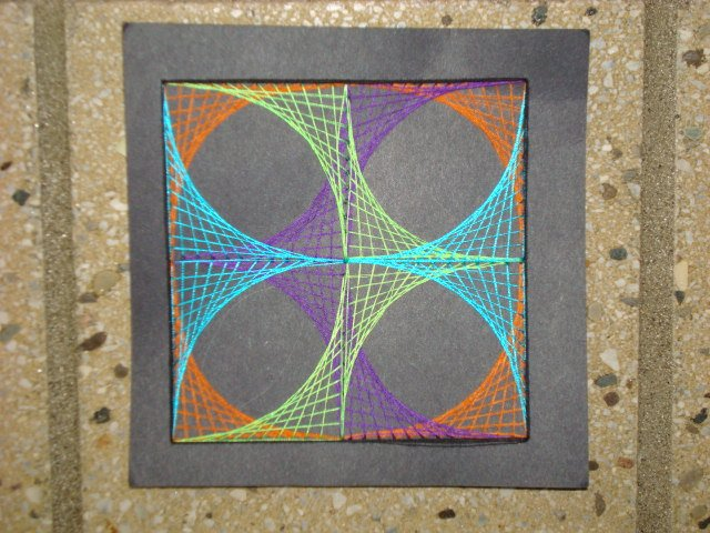 35 diy string art patterns guide patterns flower string art flower string art diy solutioingenieria Image collections