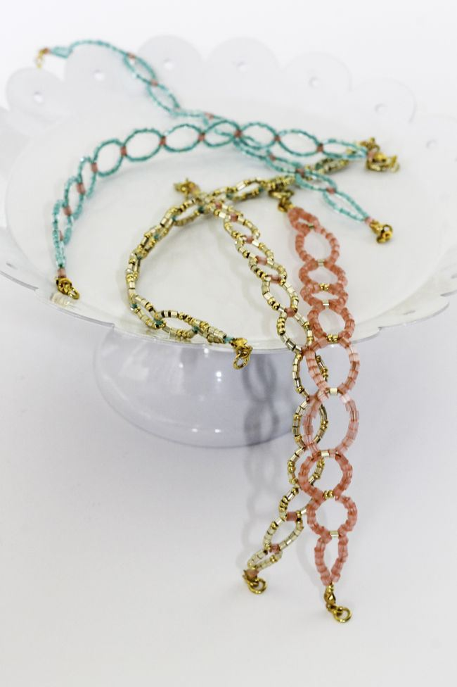 Free Beaded Bracelet Pattern Seed Bead