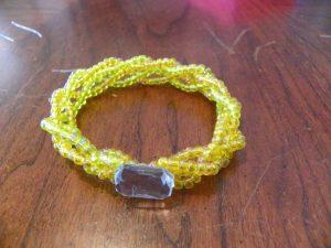 Free Seed Bead Bracelet Pattern