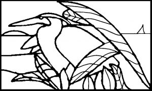 Free Stained Glass Pattern Birds