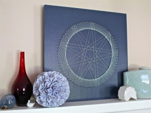 Free String Art Pattern