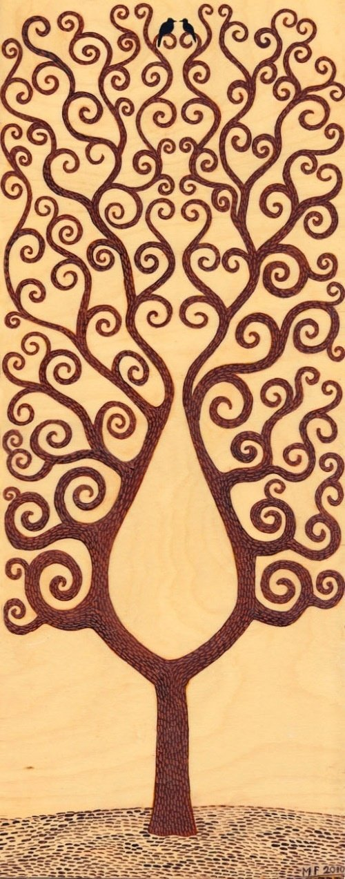 Free Wood Burning Pattern