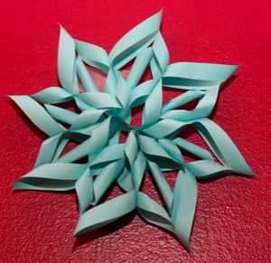 12 Easy 3D Paper Snowflake Patterns | Guide Patterns
