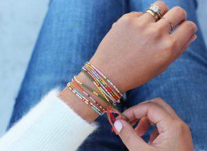 Indian Seed Bead Bracelet