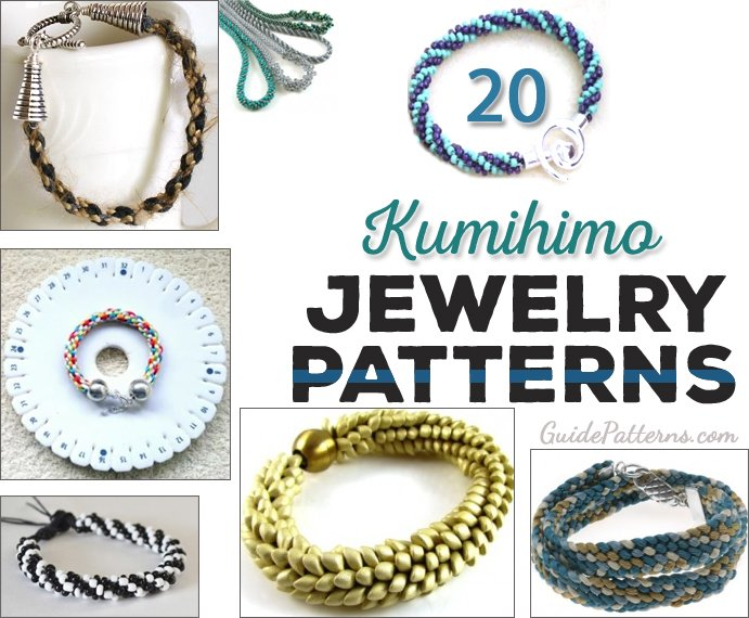 20 Cool Kumihimo Jewelry Patterns | Guide Patterns