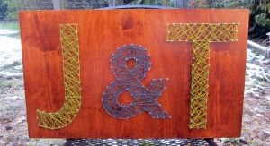 Pin and String Art