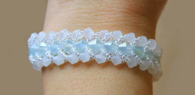 seed bead bracelet idea - Beaded Bracelet Design Ideas