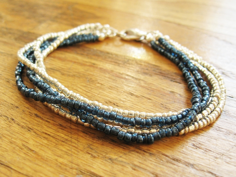 Seed Bead Bracelet Picture