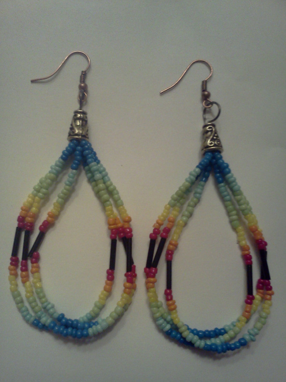 Seed Bead Earrings Image