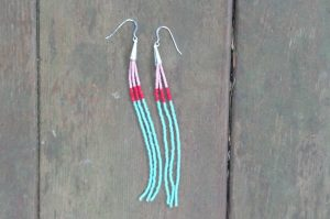 Seed Bead Earrings Instructions