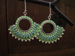 Seed Bead Earrings Pattern Free