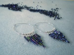 Seed Bead Earrings Picture