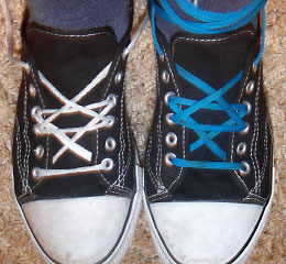 Shoelace Tying Design
