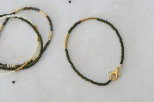 Simple Seed Bead Bracelet