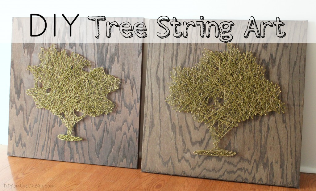 35 diy string art patterns guide patterns string art tree prinsesfo Images