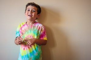Tie Dye Shirt Instructions