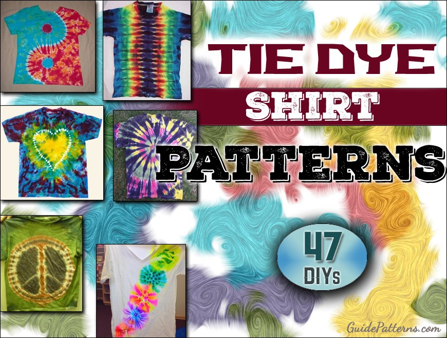 6d3d232de1ee37 47 Cool Tie Dye Shirt Patterns