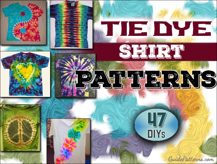 2598ba73 47 Cool Tie Dye Shirt Patterns | Guide Patterns