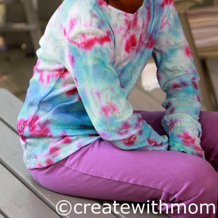 how to make tie dye designs