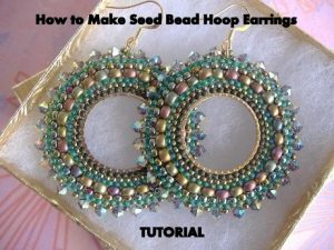 Unique Seed Bead Earrings