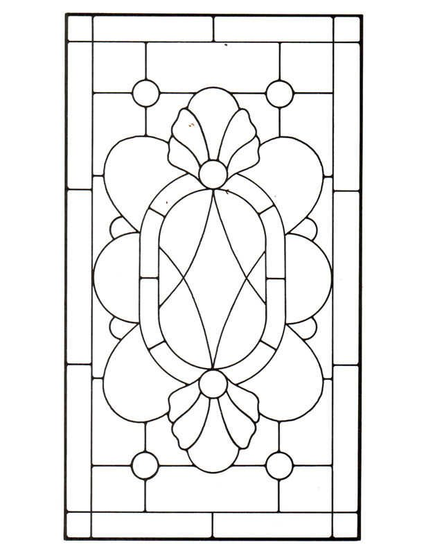 45 Simple Stained Glass Patterns | Guide Patterns: www.guidepatterns.com/45-stained-glass-patterns.php