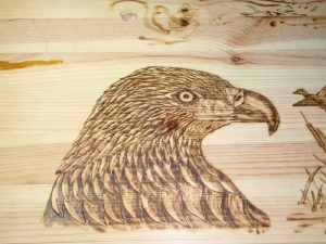 Wood Burning Design Pattern