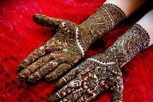 Bridal Mehndi Design for Hands