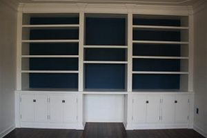 Built In Bookshelf Plan
