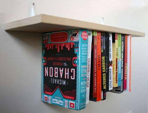 Delightful DIY Bookshelf Idea