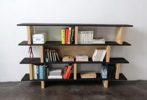 DIY Bookshelf Picture
