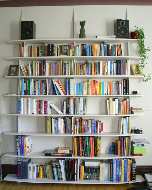 40 easy diy bookshelf plans guide patterns for Easy diy shelves