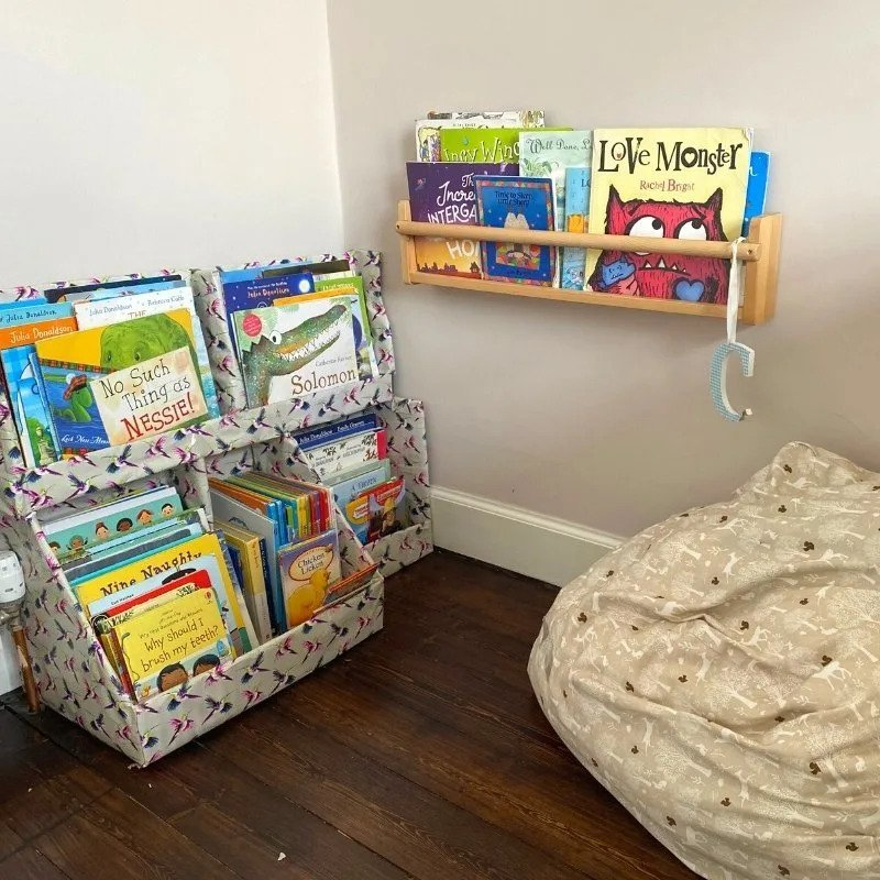 Diy Kids Bookshelf