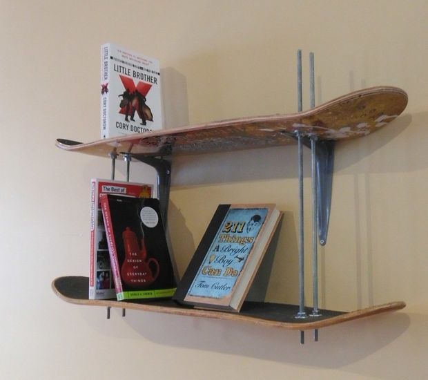 Easy DIY Bookshelf Idea
