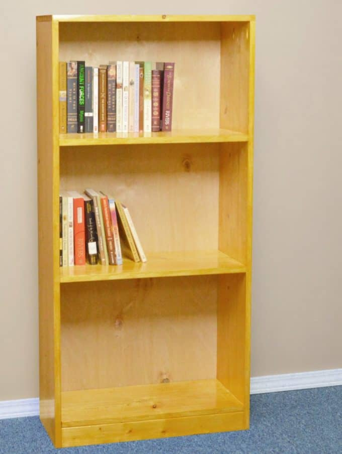 40 Easy DIY Bookshelf Plans