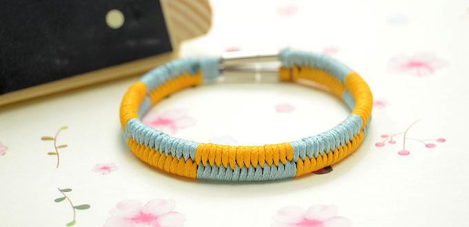 Easy friendship bracelet patterns 3 strings