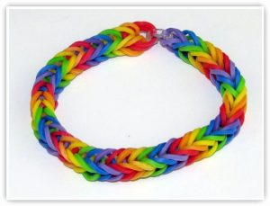 Fishtail Bracelet Rainbow Loom