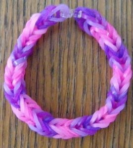 Fishtail Bracelet with Rubber Bands