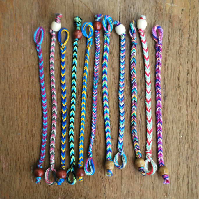how to make string bracelets - photo #18