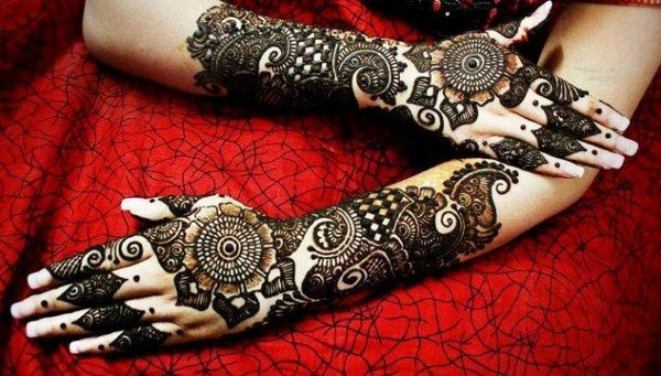 Mehndi Design For Bridal Collection : Beautiful bridal mehndi designs guide patterns