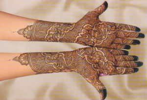 Indian Mehndi Design for Hands