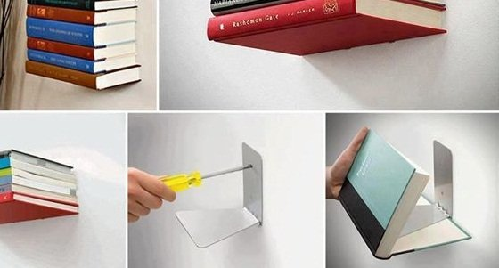 40 easy diy bookshelf plans guide patterns How to make an invisible bookshelf