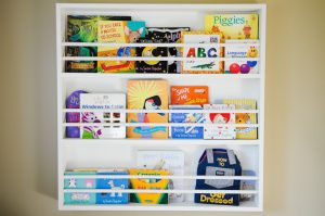 Kids Bookshelf Plan