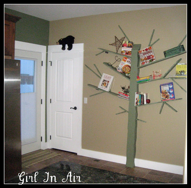 Easy DIY Bookshelf Plans Guide Patterns - Corner tree bookshelf