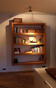 Wood Bookshelf Plan